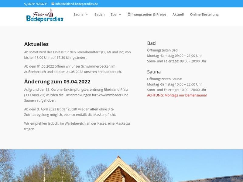 Screenshot von https://www.felsland-badeparadies.de/